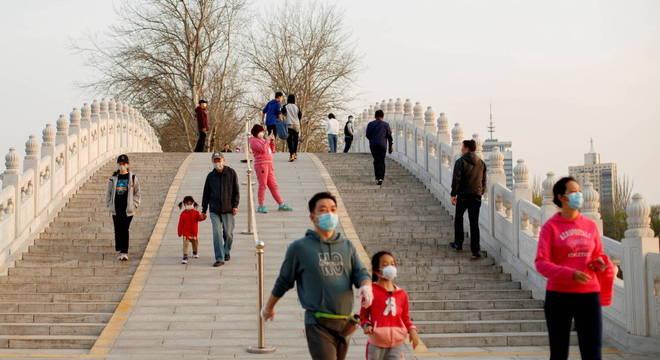 Segundo dados oficiais, a covid-19 está sob controle na China