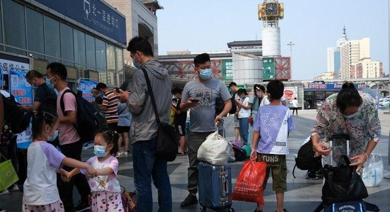 Pequim tem feito testagem constante com a população
