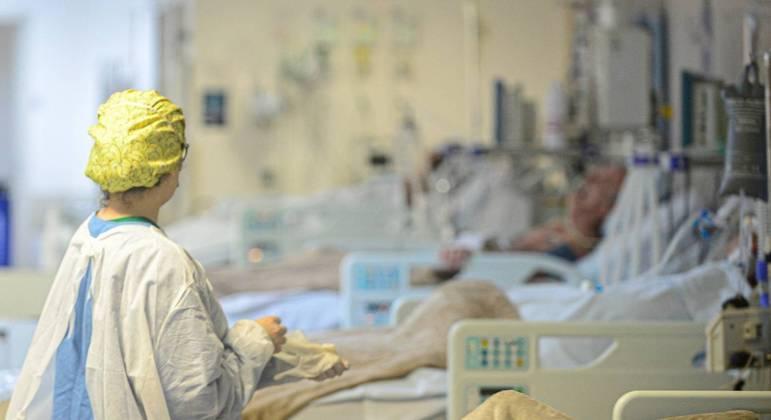 Estado está com 82% das UTIs e 62% dos leitos clínicos exclusivos aos pacientes com covid-19