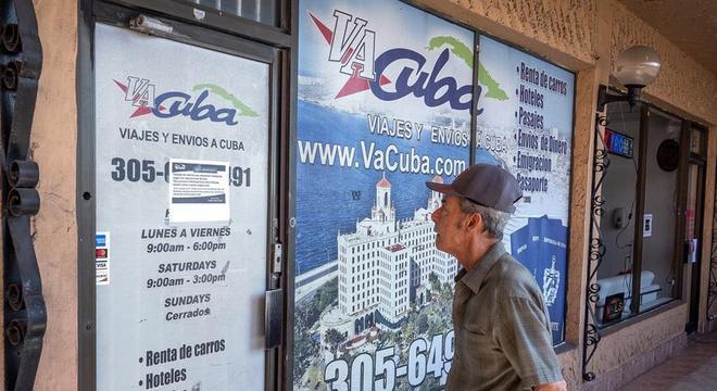 Viagens entre EUA e Cuba estão suspensas por conta da pandemia