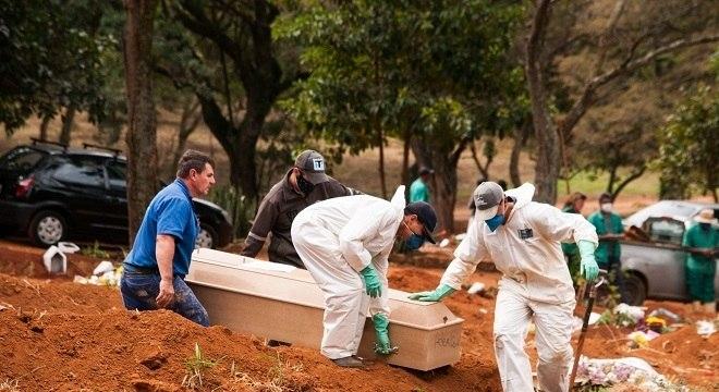 O estado de São Paulo acumula 6.423 mortes por covid-19