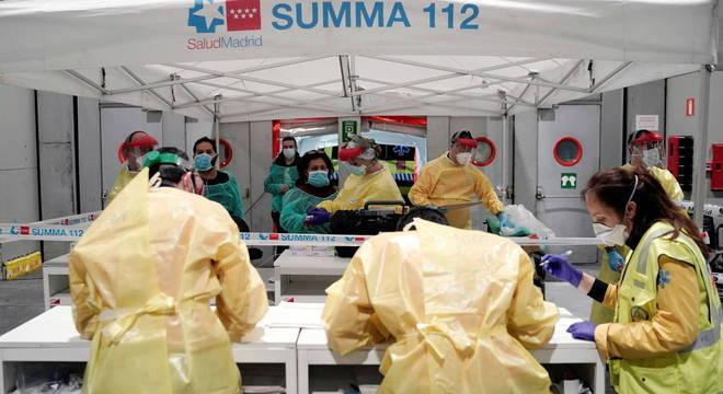 Madri é a região da Espanha mais afetada pelo coronavírus