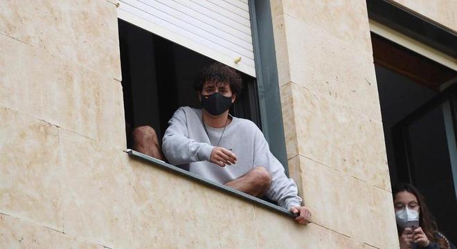 Alunos da Universidade de Salamanca já estão confinados nos alojamentos