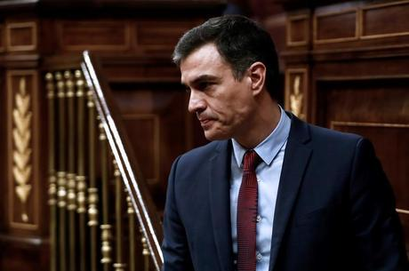 Presidente Pedro Sánchez recebeu críticas
