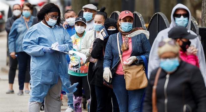 Dados indicam que entre 5% e 8% da população contraiu o vírus