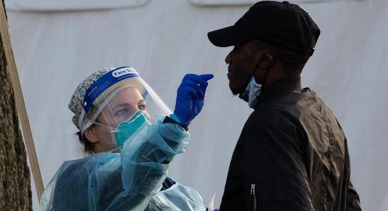 EUA identifica 1º caso de variante amazônica do novo coronavírus