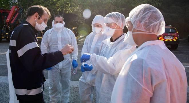 Caso ocorreu em hospital de Marselha e pode estar relacionado à covid-19