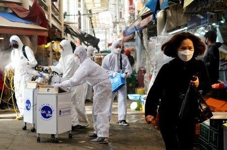Coreia do Sul tem recorde de casos importados