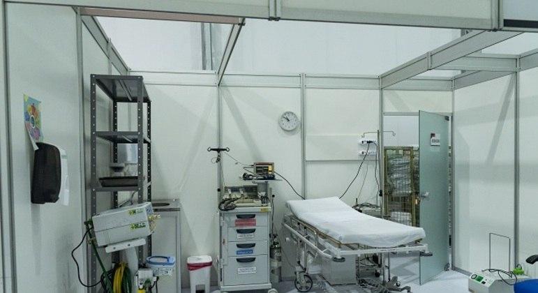 SP anunciou a construção de 12 hospitais de campanha em todo o estado