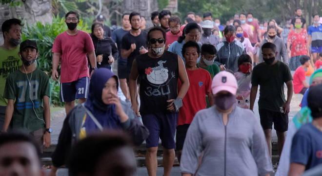 Na Indonésia, autoridades não atualizam os dados sobre a pandemia