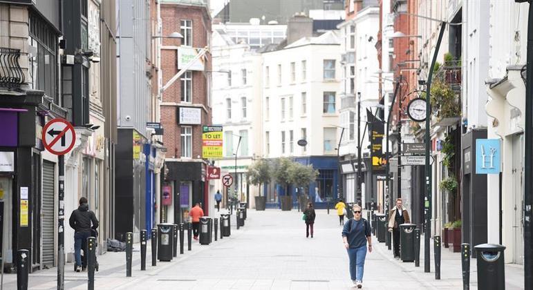 Irlanda já viveu três períodos de confinamento durante a pandemia