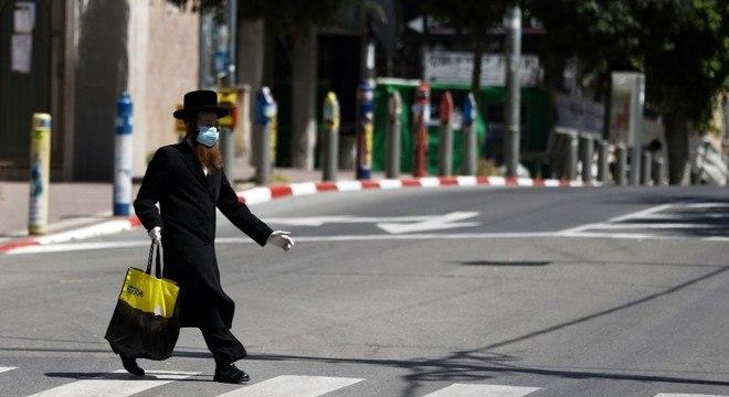 Se Israel atingir a marca de 2 mil casos diários, será necessário endurecer medidas