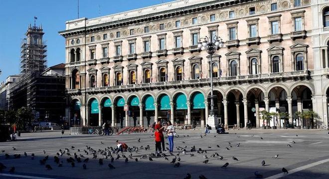 Cidades italianas como Turim estão em confinamento por conta da segunda onda