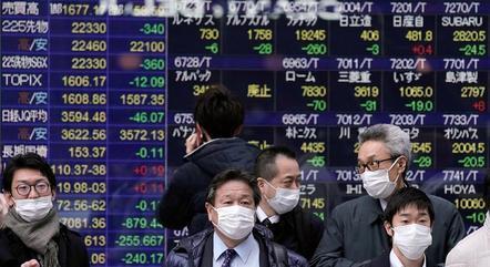Ações japonesas já subiram 8% em fevereiro