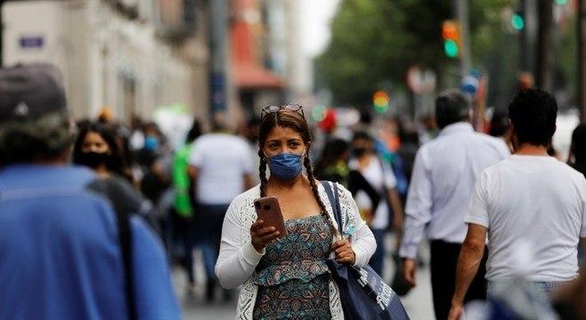 Números da pandemia no México continuam em disparada