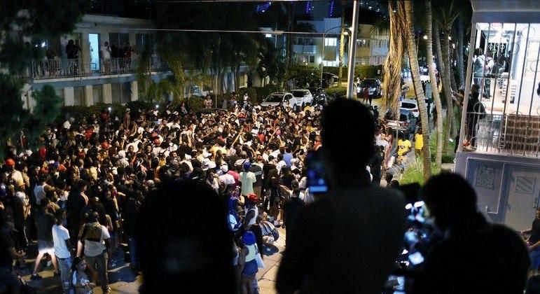 Desde 3 de fevereiro, 80 armas foram confiscadas e mil prisões foram efetuadas na cidade