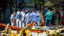 Mortes por covid-19 no Brasil já podem superar 220 mil, diz estudo