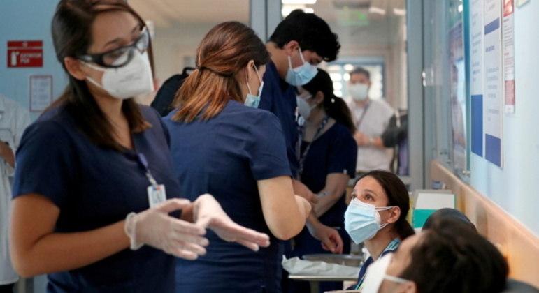 Nova mutação do coronavírus foi registrada no Chile