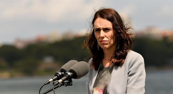 A primeira-ministra, Jacinda Ardern, determinou bloqueio a partir deste domingo