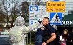 Polônia acirra fiscalização em fronteiras