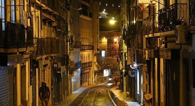 Confinamento na segunda onda esvaziou as ruas de Lisboa