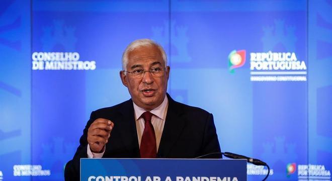 O g overno do primeiro-ministro Antonio Costa tenta frear a expansão da covid-19