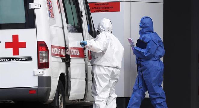 Em um dia foi registrado 11.311 casos em 84 das 85 entidades da Federação Russa
