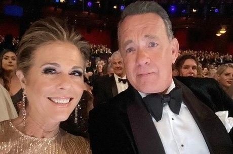 Rita Wilson e Tom Hanks estão com coronavírus
