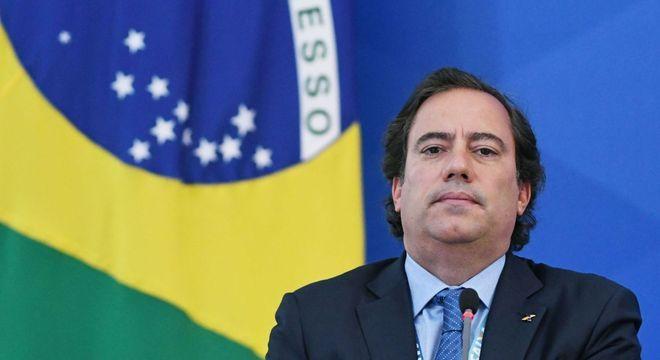 O presidente da Caixa Econômica Federal (CEF), Pedro Guimarães