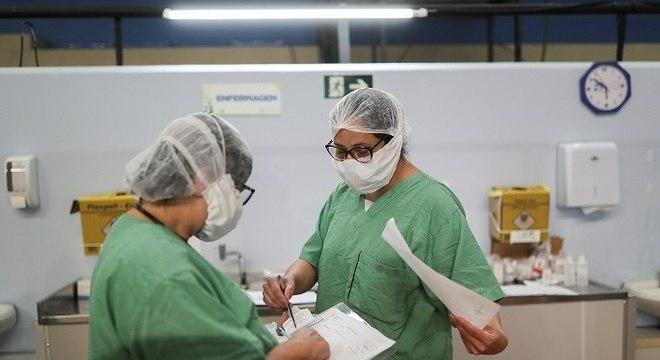 SP tem 37.853 casos reportados pela Secretaria Estadual de Saúde