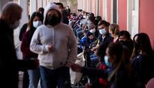 Chile vacina 80% da população-alvo e número de novos casos despenca