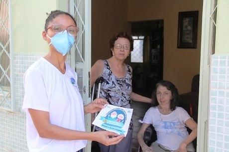 Adesivos vão alertar visitantes para risco de contaminação