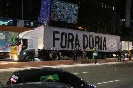 Manifestação passou pela avenida Paulista