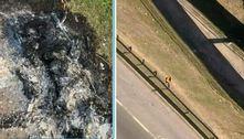 Corpo é encontrado carbonizado na rodovia Régis Bittencourt (SP)