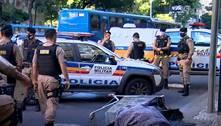 Polícia acha corpo em carrinho de supermercado no centro de BH