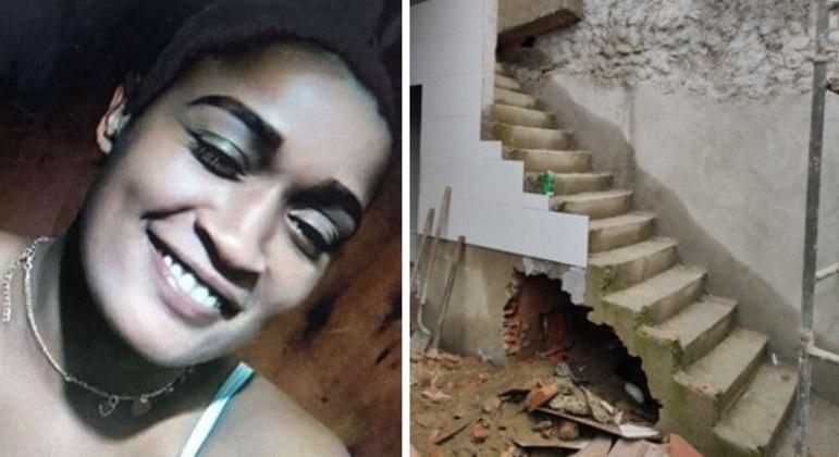 Vítima foi encontrada morta embaixo de vão de escada