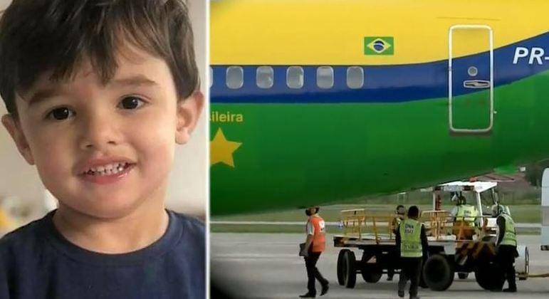 Corpo do menino Gael chega à Paraíba para sepultamento