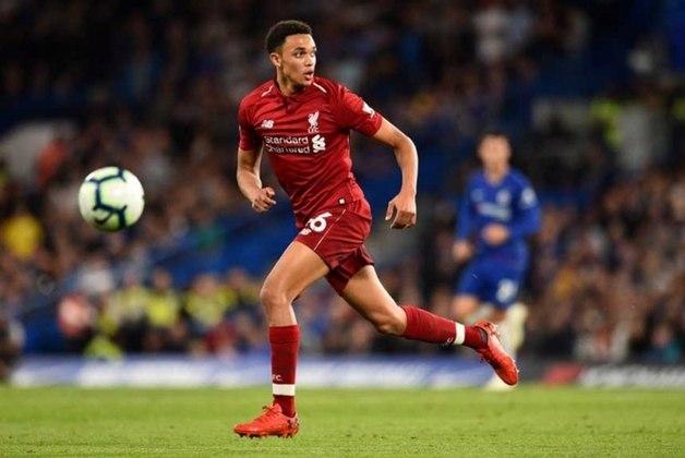 Correm por fora - Arnold (Liverpool) - 49 jogos, 4 gols e 15 assistências - Campeonato Inglês e Mundial de Clubes