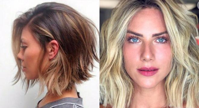 Cortes de cabelo 2021 - curto