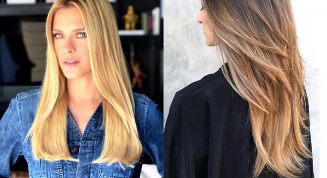 Cortes de cabelo 2021 - longo