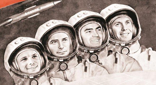 Repetir a anedota urinária de Gagarin é uma tradição entre os astronautas