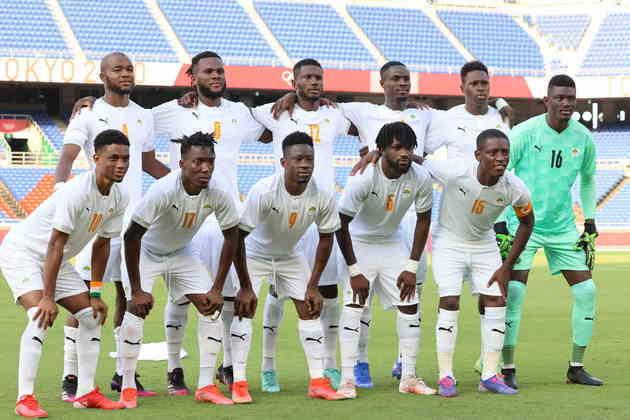 Costa do Marfim, do grupo D, empatou com o Brasil no placar de 0 a 0.
