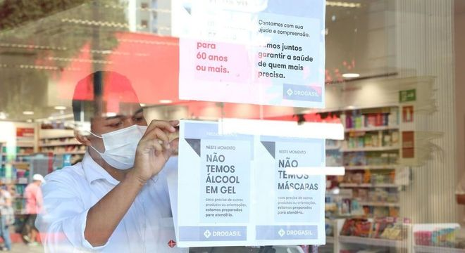 Farmácias continuam funcionando em São Paulo no período de quarentena