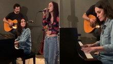 Filha de Courteney Cox impressiona ao cantar música de Adele em vídeo