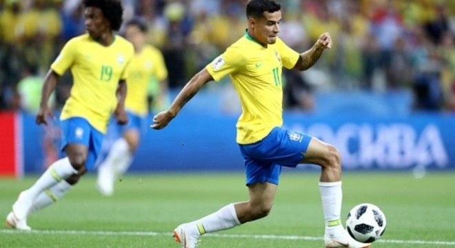Coutinho é um dos principais jogadores do Brasil na Copa da Rússia