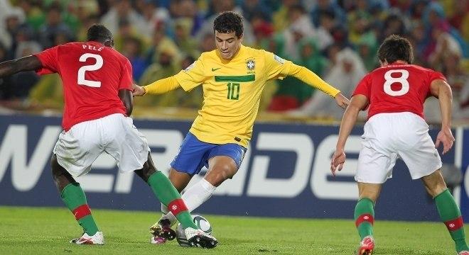 Coutinho, camisa 10 do Brasil campeão mundial sub-20 em 2011