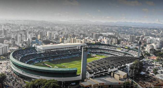 Estádio Couto Pereira, em Curitiba, sediaria jogo entre Coritiba e Cascavel