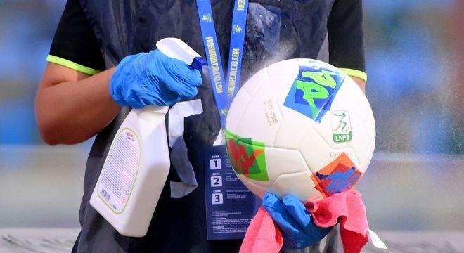 No Futebol da Itália, os rigores dos protocolos de segurança