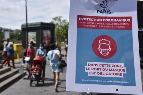 França tem escalada da pandemia de covid-19