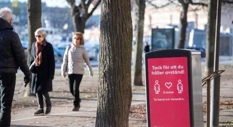 Suécia registra primeiro caso de contaminação com a nova cepa do coronavírus